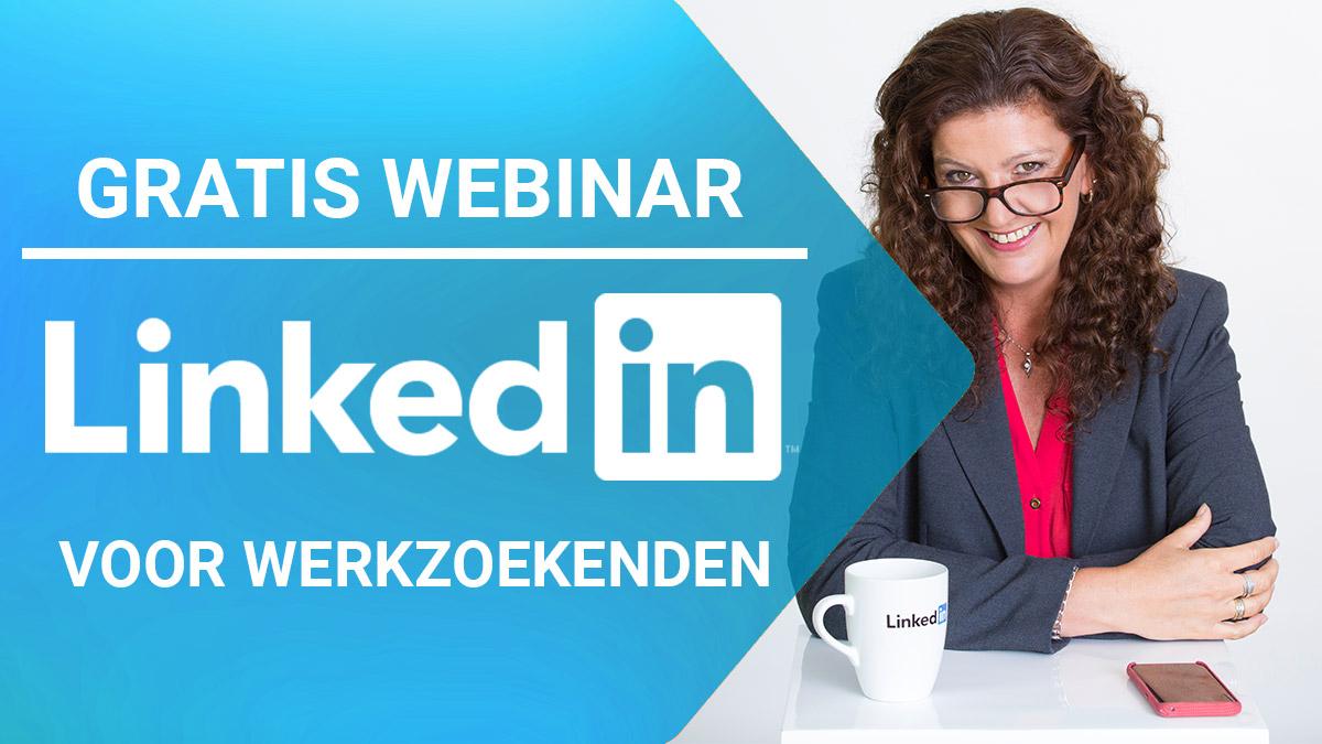 Gratis webinar – LinkedIn voor werkzoekenden