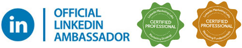 LinkedIn Ambassador en certified LinkedIn Marketing en LinkedIn strategie