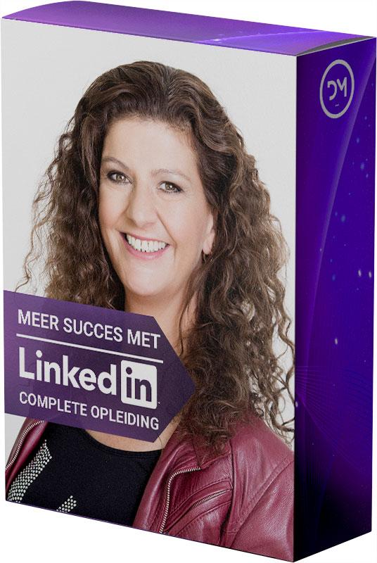 Videotraining Meer succes met LinkedIn! - Complete opleiding - Corinne Keijzer